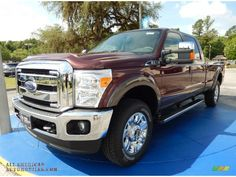 2015 F250 Super Duty Lariat Crew Cab 4x4 - Bronze Fire / Adobe