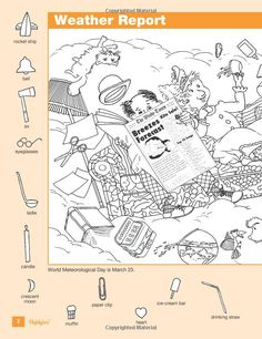 Highlights Hidden Pictures 2011 Volume 3: Highlights for Children: 9781590788387: Amazon.com: Books