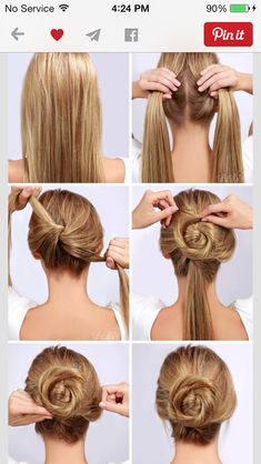 #easy #cute #quick hairstyle