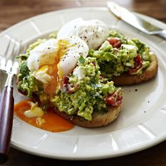 Try this Poached Eggs with Avocado and Feta Smash on Sourdough recipe.