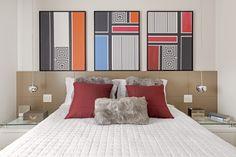 Apartamento de 130 m² com decoração colorida e harmônica   CASA CLAUDIA