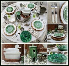 Panoply: Nature's Way Spring Tablescape