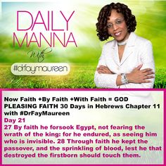 DM#235 30 Days in Hebrews Chapter 11 with Day 21
