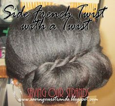 French Twist with a Twist