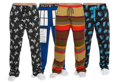 Doctor Who Pajama Pants Regenerated