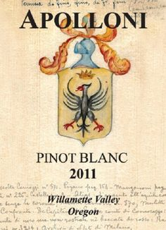 2014 Apolloni Willamette Valley Estate Pinot Blanc 750 Ml *** Click on the image for additional details.