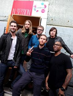 Maroon 5 - there are a lot of people in this band...if only I knew the name of anyone besides Adam Levine
