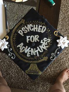 Psychology graduation cap decoration