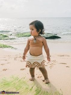 hawaiis baby moana halloween costume contest via costume_works - Walmart Halloween Costumes For Baby