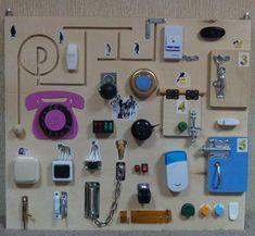 Бизиборд, или развивающая доска для ребенка. 17 идей для вдохновения и создания — Я happy МАМА