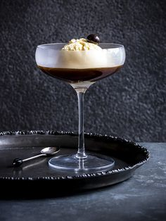 Follow the Irish way of making almost everything boozy with this recipe for an easy going pudding. Made with a simple vanilla ice cream base, you can pick your poison (preferably of the liqueur variety, but spirits also work) to top it off and dig in