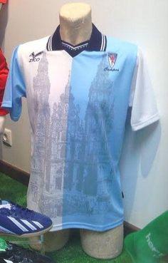 Camiseta retro Zico Compostela de fútbol dos anos 90 ... Deportes Hermida 0b1c22eddca64