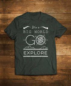 9dcd1bf9b Explorer Cotton T shirt Alkimia's T shirt hiking Tee Mountain Designs,  Spirit Shirts, School