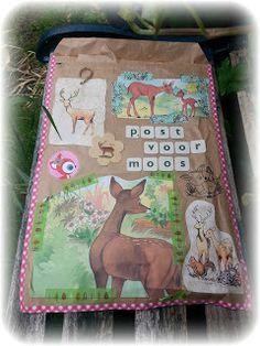 Moos en haar Moosies: Kunstwerk op de deurmat