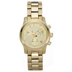 Michael Kors Gold Chronograph Watch (MK5384)
