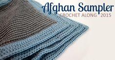 The Inspired Wren: Border! Crochet Along Afghan Sampler