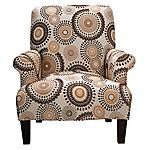Invite the presence of the Cameron into your home, and you're inviting amazing style as well.  An American Signature® exclusive.  Includes a Limited Lifetime Warranty at no additional cost†.  Part of the Arts & Crafts Collection.  Contemporary styling features the beautiful color pairing of brown and grey.  Sumptuous velvety microfiber is dynamic and comfortable.  Fully padded arms add quality and longevity .  Contrast welts and wooden legs add additional style.  Coordinating Sofa and…