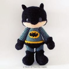 Batman amigurumi pattern