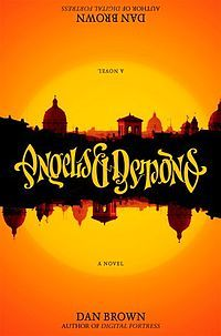 Angels & Demons - Dan Brown - His books may be fiction, but all of the facts are true. I love how much research is a part of his writing process.
