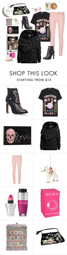 """""""Instant"""" by juliabachmann ❤ liked on Polyvore featuring Sophia Webster, Dsquared2, iCanvas, Balenciaga, Lenox, Lancôme, Honey-Can-Do, Tom Ford and Pier 1 Imports"""