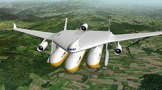 旅客・貨物・燃料などニーズに合わせた胴体を組み合わせ可能なモジュール式航空機「Clip-Air」 - GIGAZINE