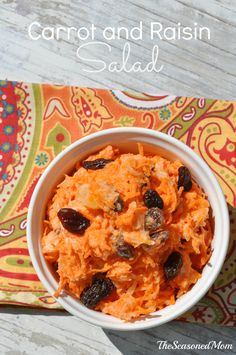 Lightened-Up Carrot and Raisin Salad