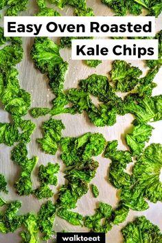 Healthy Veggie Snacks, Healthy Kale Chips, Homemade Kale Chips, Grilled Vegetable Recipes, Grilled Veggies, Healthy Meals, Healthy Recipes, Kale Chips Oven, Roasted Kale Chips