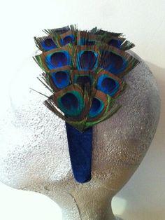 diadema inglaterra forrada en terciopelo azul de alta calidad como todos los materiales utilizados en pavo