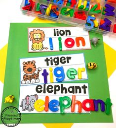 Looking for fun Preschool Zoo Theme Activities for kids? Check out these 16 Hands-On Preschool Zoo inspired Learning Activities and Crafts for Preschool or Kindergarten. Jungle Theme Activities, Zoo Activities Preschool, Zoo Animal Activities, Writing Center Preschool, Writing Activities For Preschoolers, Preschool Jungle, Preschool Centers, Preschool Literacy Activities, Writing Centers