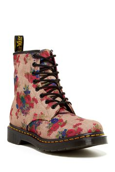 Dr. Martens Castel Lace-Up Boot in Taupe