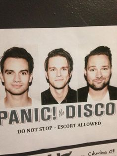 twitter panic! at the disco brendon urie dallon weekes Twenty One ...