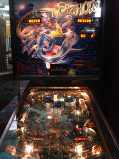 Fathom Pinball.  To me, the most beautiful Pinball machine out there!