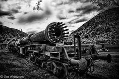 Old industrial residues-