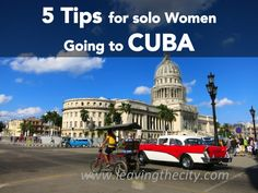 Top 5 Tips for Solo female travellers going to Cuba! Solo Travel Tips