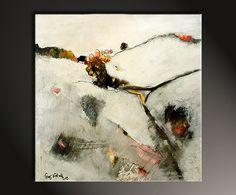 """""""Winterfelder"""" - modernes Wandbild - abstrakte Kunst - Abstrakte Kunst Galerie Inspire ART"""