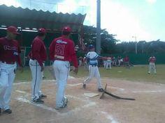 Champoton, Campeche 28 de Enero del 2017.- ( John Rosado/ Beisbol Campechano ).- Con la presencia de mas de 70 niños y jovenes, ademas con e...