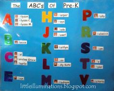 little illuminations: Making Literacy Connections With Our Names