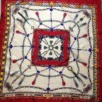 Cartier scarf.  www.thethrifters.net  www.dtroppy.blogspot.com