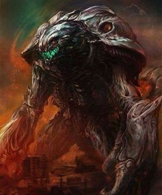 Godzilla King of all Monsters: Orga All Godzilla Monsters, Cool Monsters, Horror Monsters, Classic Monsters, Godzilla Wallpaper, Giant Monster Movies, Monster Characters, Aliens, Arte Dc Comics