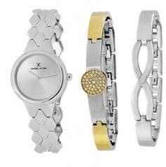 Daniel Klein Premium DK11452-1 Daniel Klein, Bracelet Watch, Watches, Bracelets, Silver, Leather, Accessories, Fashion, Wrist Watches