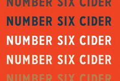 No. 6 Cider on Behance