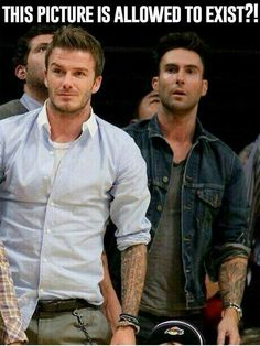 Beckham nd Adam Levine