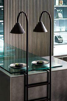 Futuristic cityscapes for kitchen by @tmitaliacucine