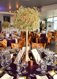 Large Baby's Breath Ball Centerpieces