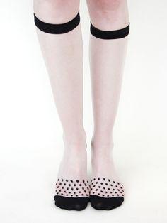 Rachel Comey » Dotted Knee Socks