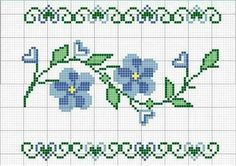 This Pin was discovered by TC Cross Stitch Heart, Cross Stitch Borders, Cross Stitch Flowers, Cross Stitch Designs, Cross Stitching, Cross Stitch Embroidery, Hand Embroidery, Cross Stitch Patterns, Corner To Corner Crochet