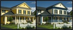 Deciding on a house color? Use the Color Visualizer to choose which colors work best on the exterior of your home.