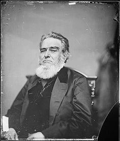 Edward Bates was a man of firsts, he was the first attorney general of Missouri after it was admitted as a state and was the first cabinet member to be appointed from west of the Mississippi River. Bates served as United States Attorney General under President Abraham Lincoln from 1861 to 1864. Image: National Archives Identifier 528314.