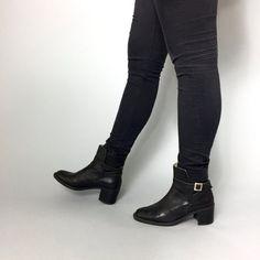 Handmade Italian Leather Boots Size 40