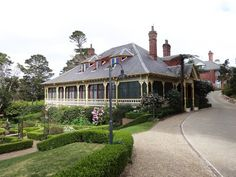 Lilianfels, a picturesque Blue Mountains retreat, about an hour and half drive from the CBD.